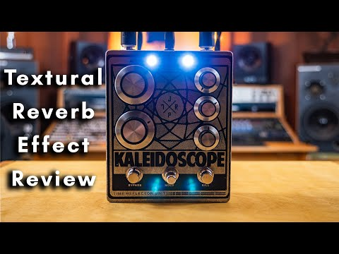 Textural Reverb - Kaleidoscope Multi Reflector Effect Pedal by JPTR FX | Gear Demo